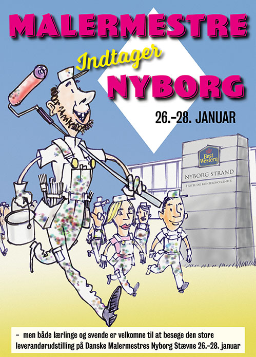 Malermestre leverandørudstilling i Nyborg 2017