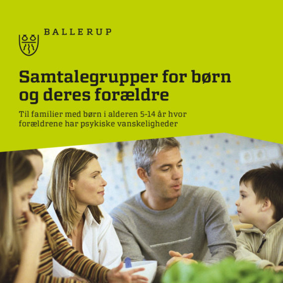 ballerup pjece samtalegrupper for børn og deres forældre